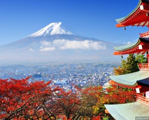 viaje de novios japon