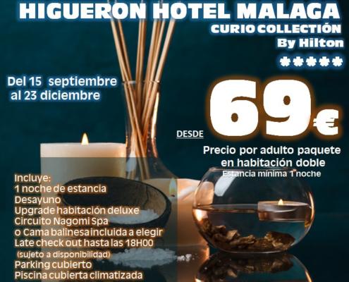 Escapada Relax Higuerón Hotel Málaga Teloplaneo